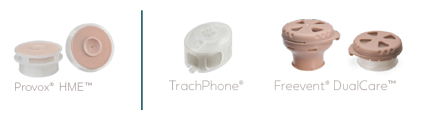 Provox HME + TrachPhone + Freevent DualCare | Atos Medical